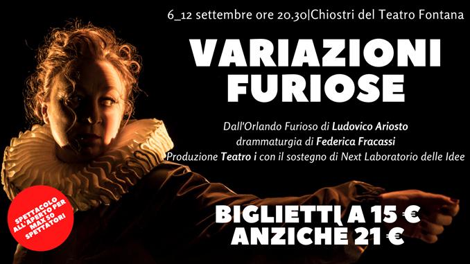 Teatro Fontana: variazioni furiose